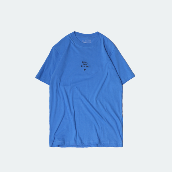 Basic Pulse Tee Light Blue