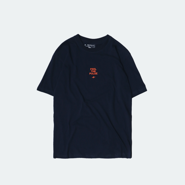 Basic Pulse Tee Navy