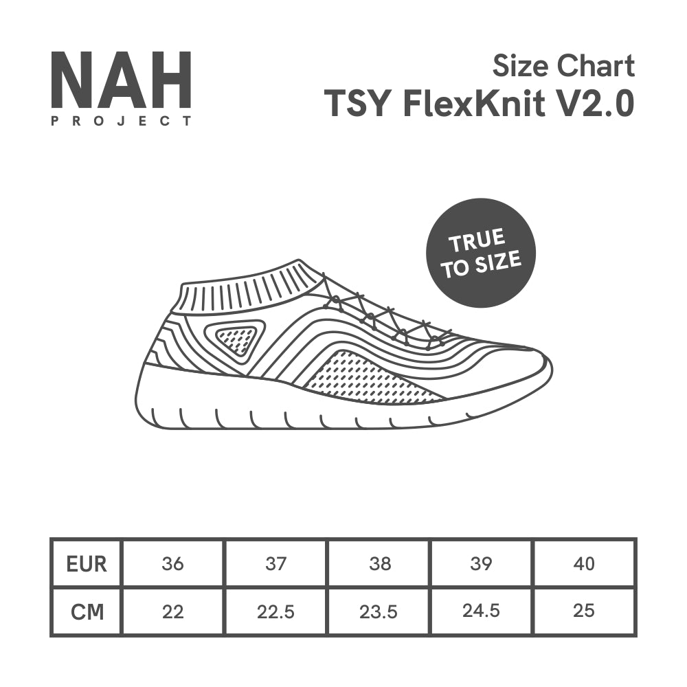 TSY FlexKnit V2.0 Dark Glacier Gray