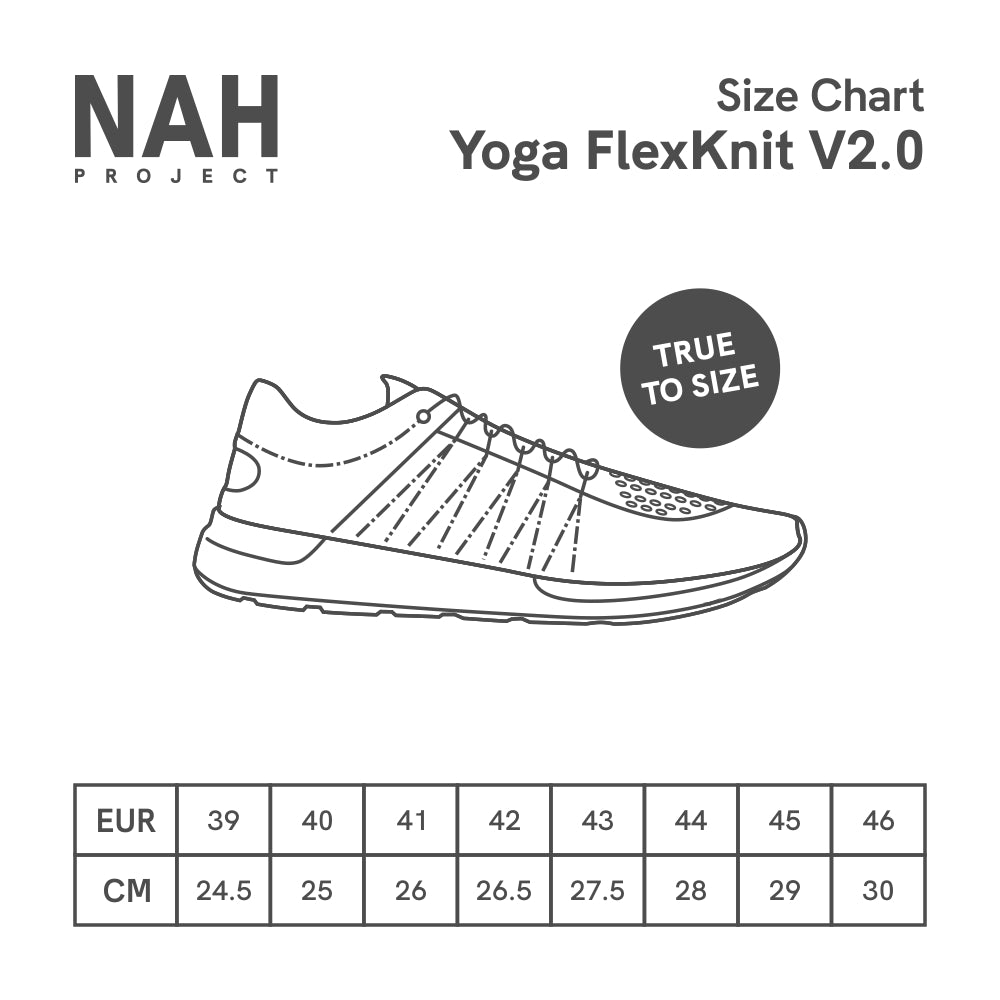 Yoga FlexKnit V2.0 Carbon Black
