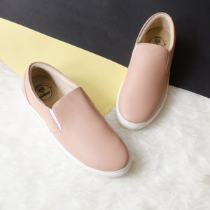 Dresssofia Latte Slip On