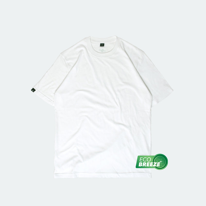 Basic Tee Ecobreeze White