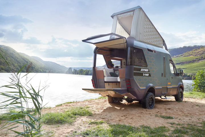 Hymer reveals its foray into vanlife with the VisionVenture