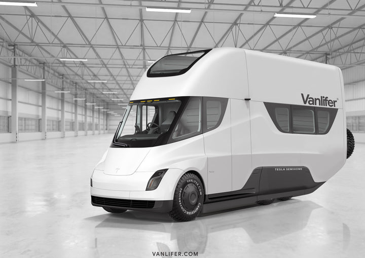 Tesla Semi campervan concept: introducing the Vanlifer Semi-Home