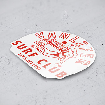 'Surf Club' Stickers