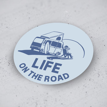 'Life on the Road' Stickers