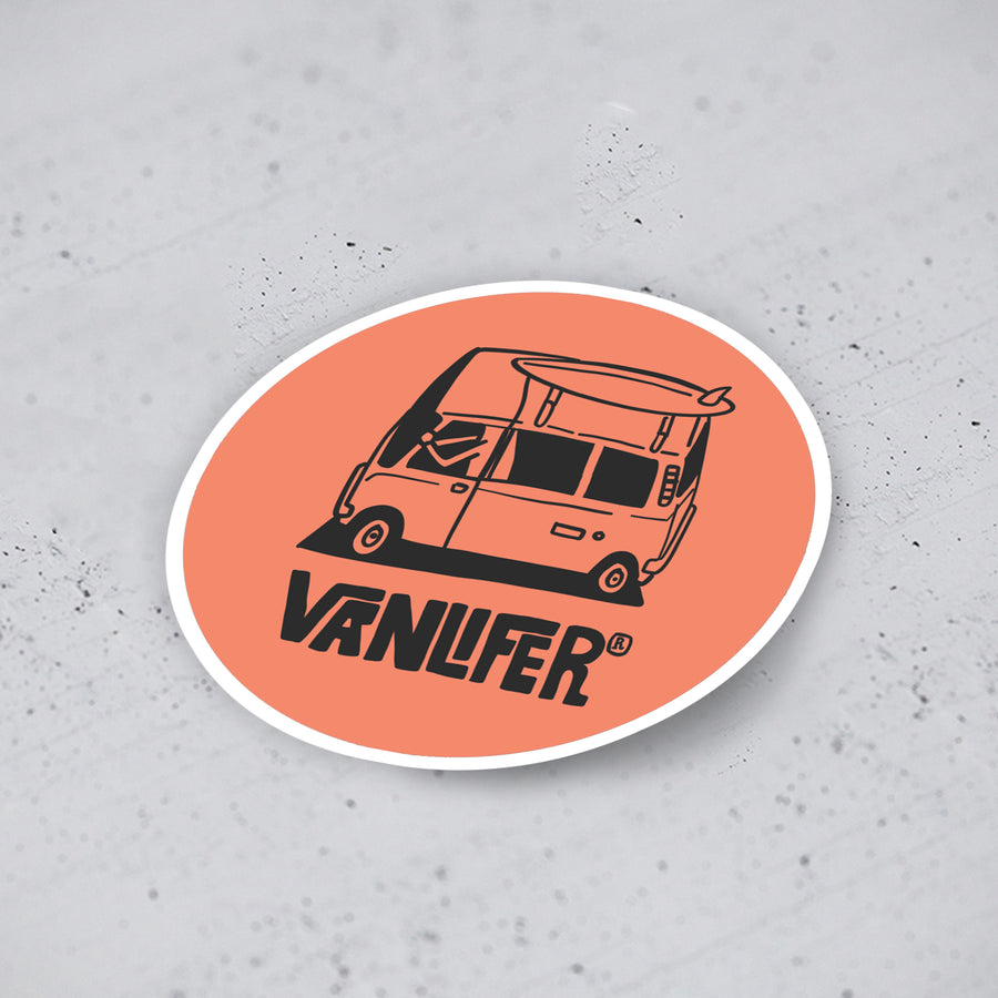 'Vanlife Trip' Stickers