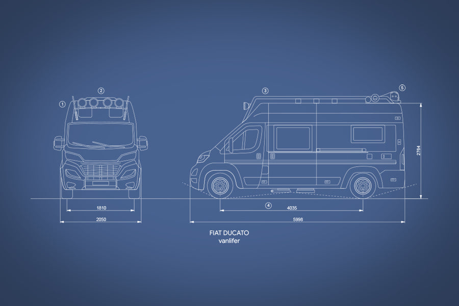 VANLIFE blue prints