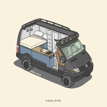 Cross-Section Camper Doodle