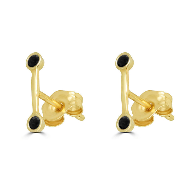 Linea Small Stud Earring (single)