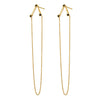 Linea V Chain Earring (single)