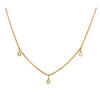 Le Basic Triple Bezel Necklace