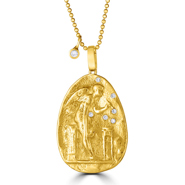 Angel Intaglio Medallion