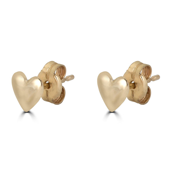 Shapes Heart Stud Earring