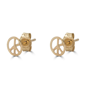 Shapes Peace & Love Stud Earring
