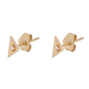 Mini Triangle Stud Earring (single)