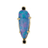 Opal Drop Stud Earring (single)