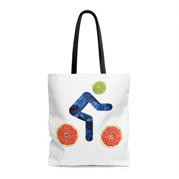 bicycle day lime tote