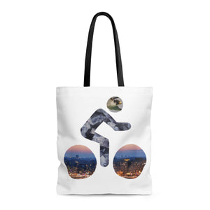 bicycle day eagle tote