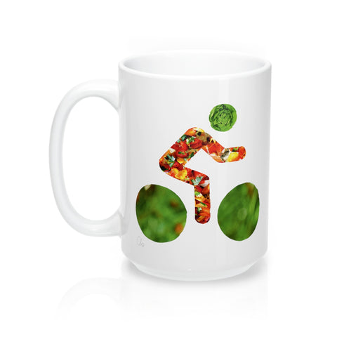 bicycle day lettuce mug