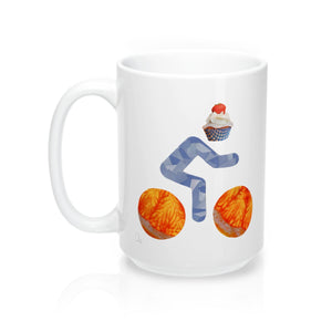 bicycle day cupcake mug