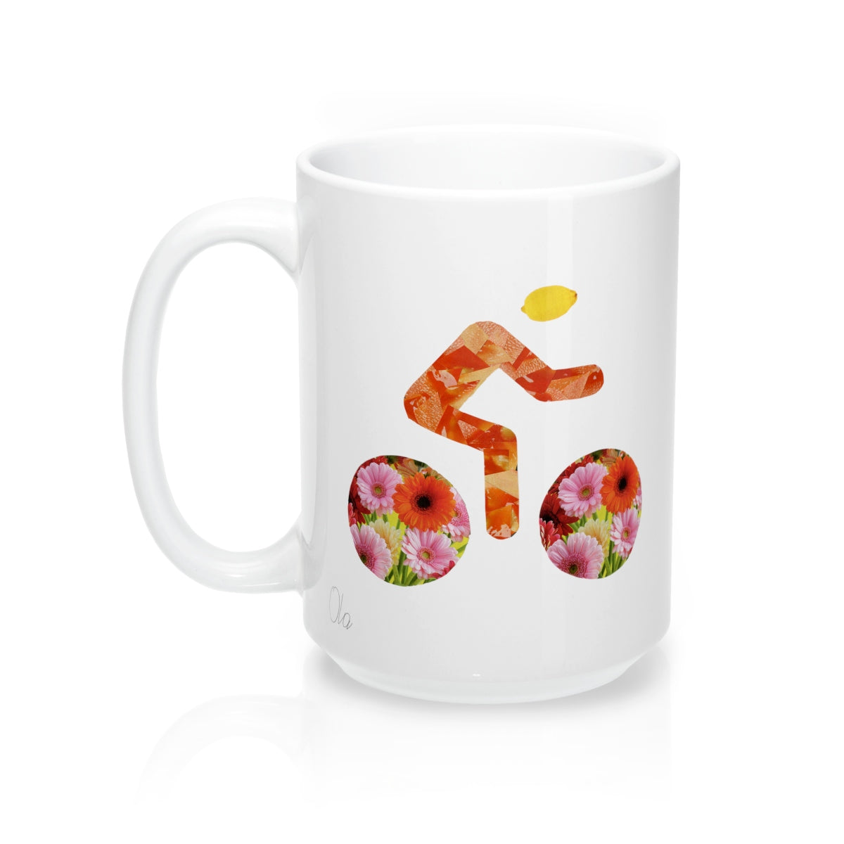 bicycle day lemon mug