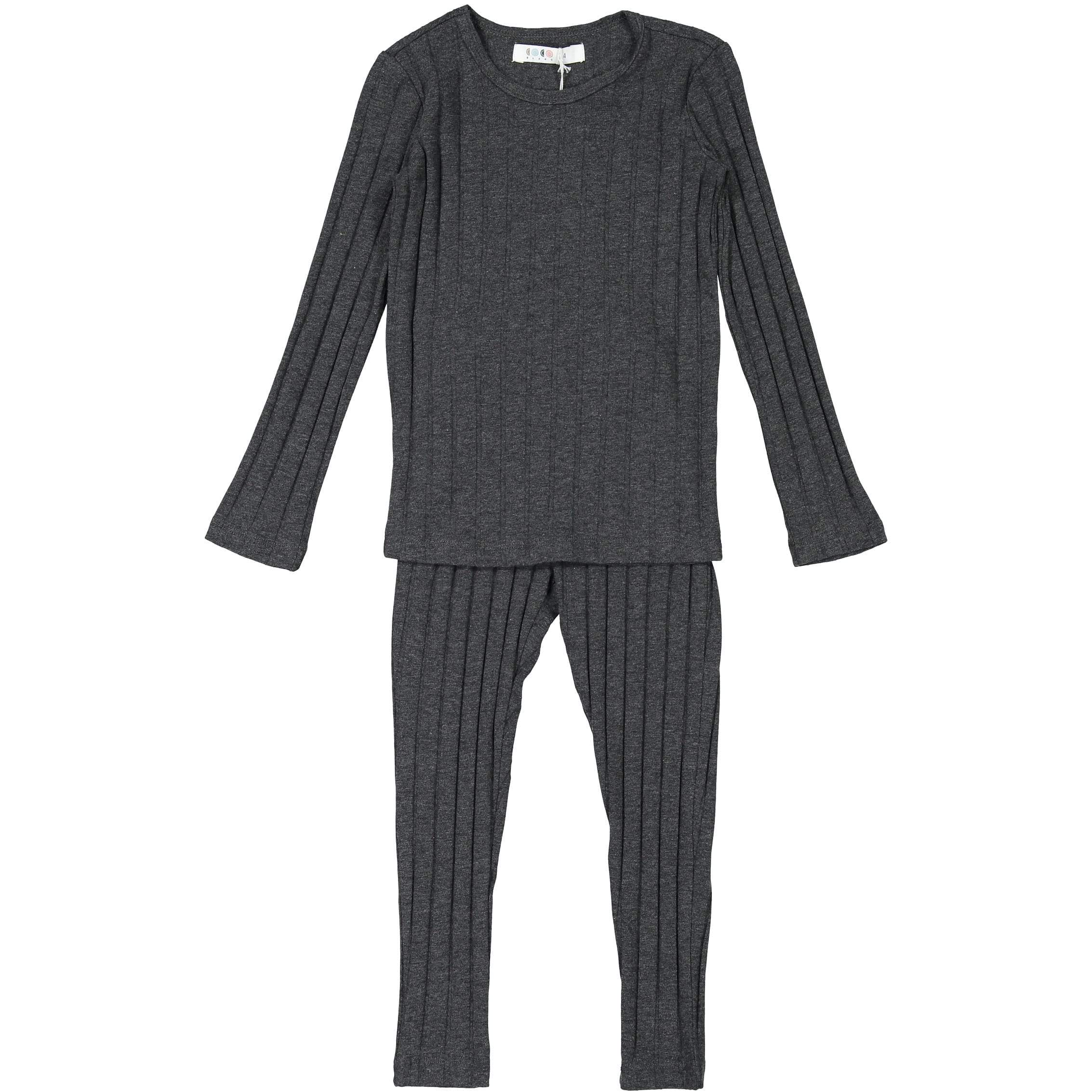 Wide Ribbed Pajama