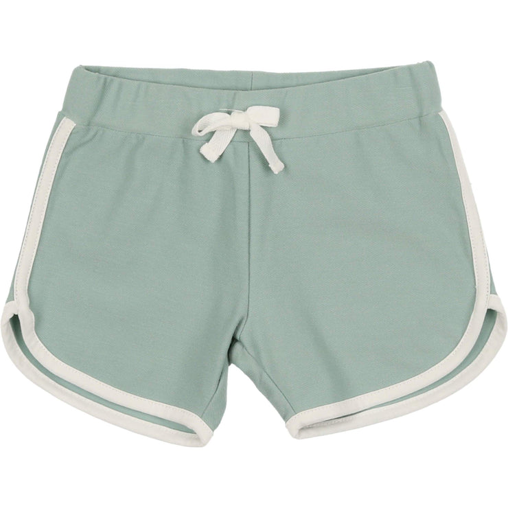 French Terry Biker Shorts - CocoBlanc
