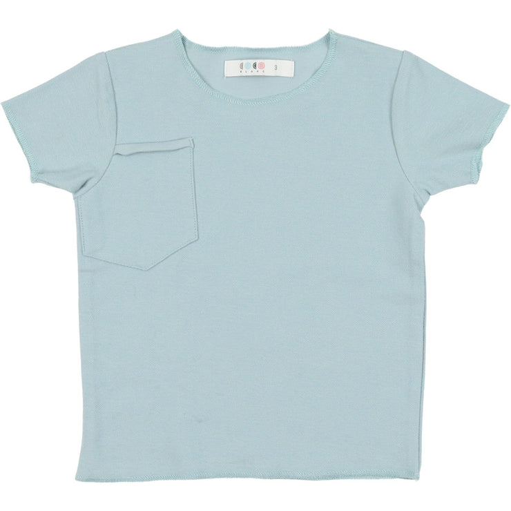 French Terry Short Sleeve Tee - CocoBlanc