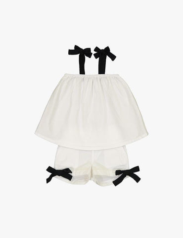 Coco Blanc Baby Swing Outfit