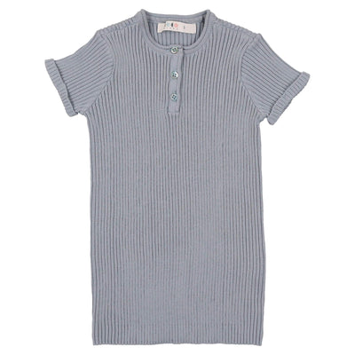 Knit Henley - CocoBlanc