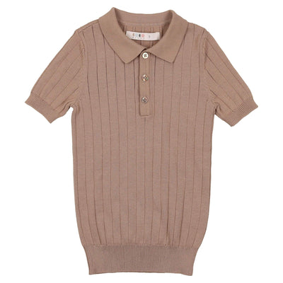 Knit Polo - CocoBlanc