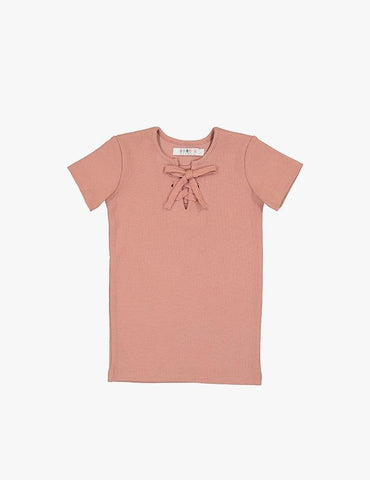 Short Sleeve Criss Cross Tee