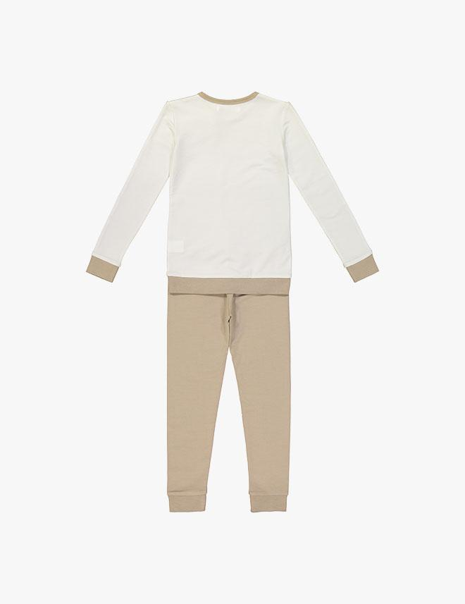 Coco Blanc Color Blocked Pajamas