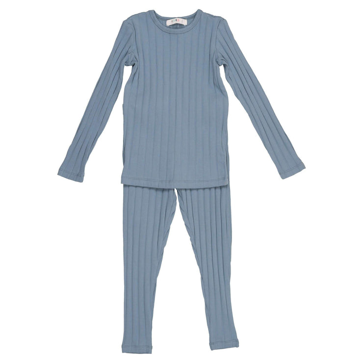 Wide Ribbed Pajama - CocoBlanc