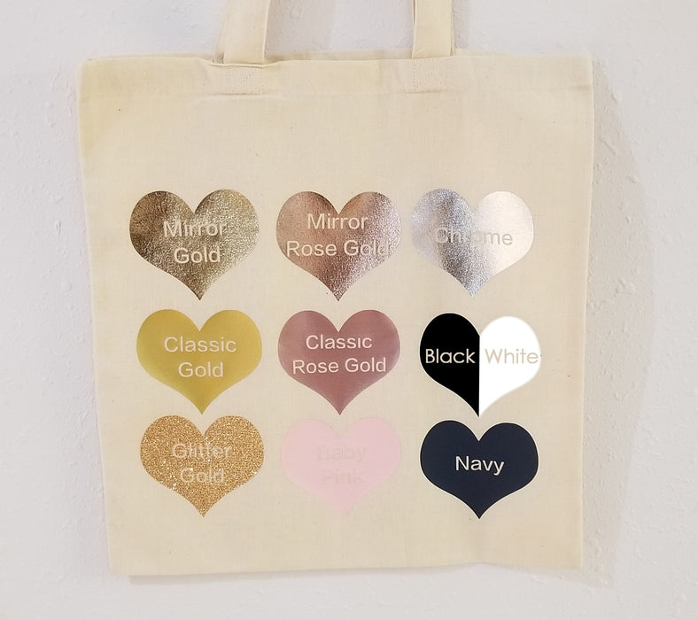 personalized bridesmaid Tote bag, Bridal party proposal Totes, SET of 5, 6 ,7, 8 get Bulk discount