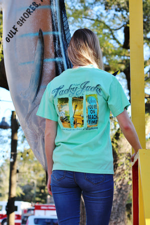 "Tacky Jacks ""Beach Time"" Short-Sleeve T Shirt"