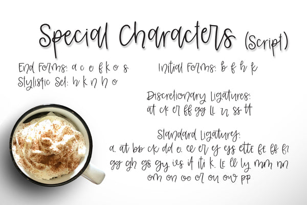 Leggings & Lattes Font Duo