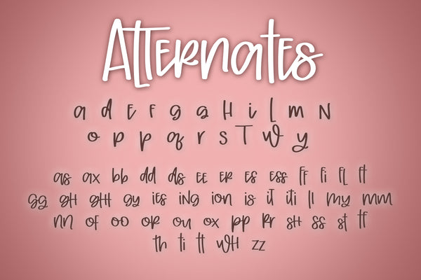 After Eight Font