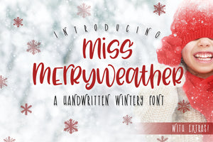 Miss Merryweather Font