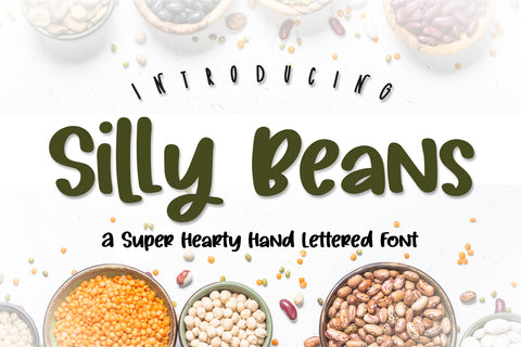 Silly Beans Font