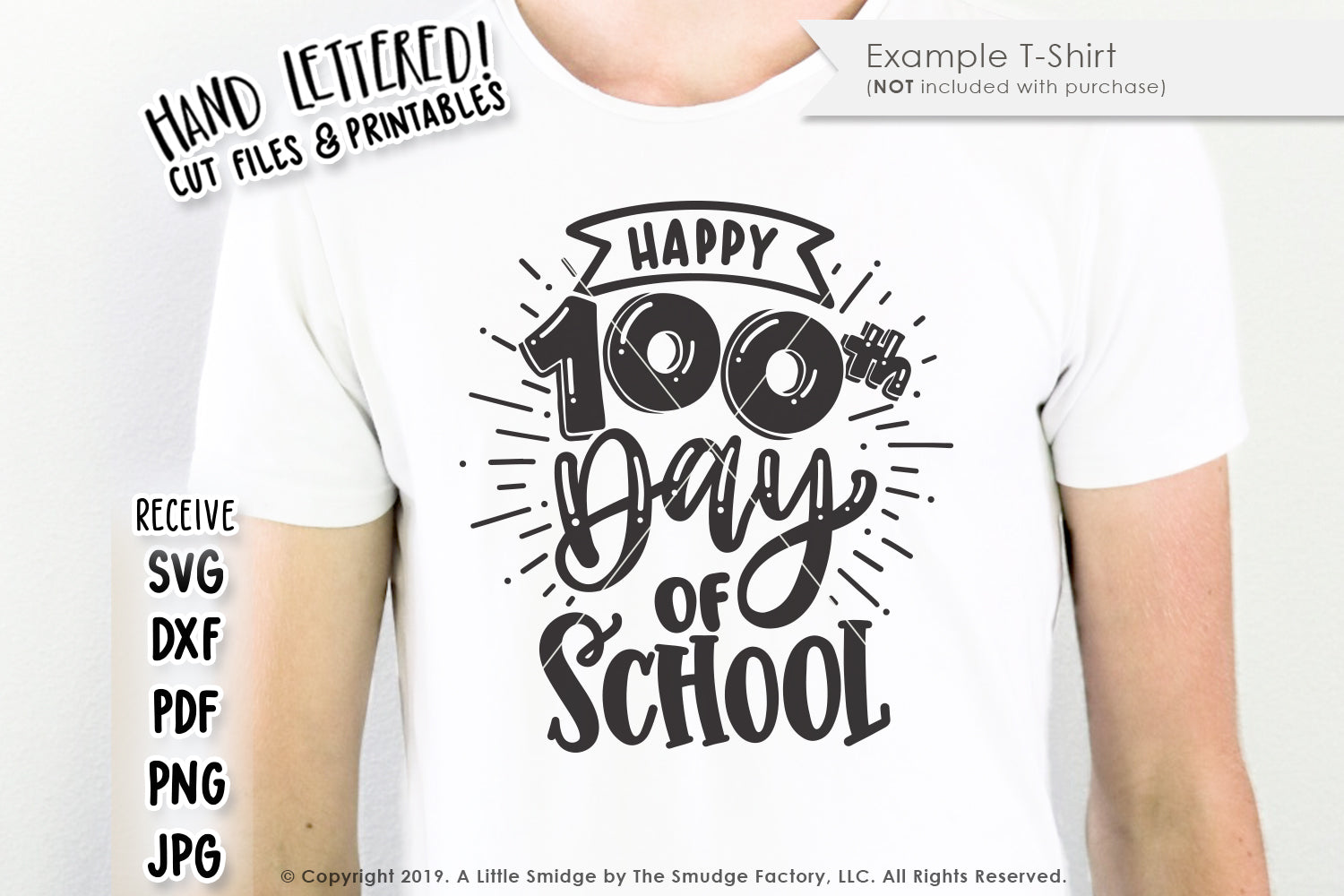 Hundredth Day Of School SVG & Printable
