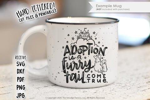 Adoption Is A Furry Tail Come True SVG & Printable