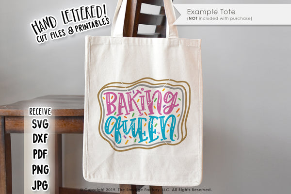 Baking Queen SVG & Printable