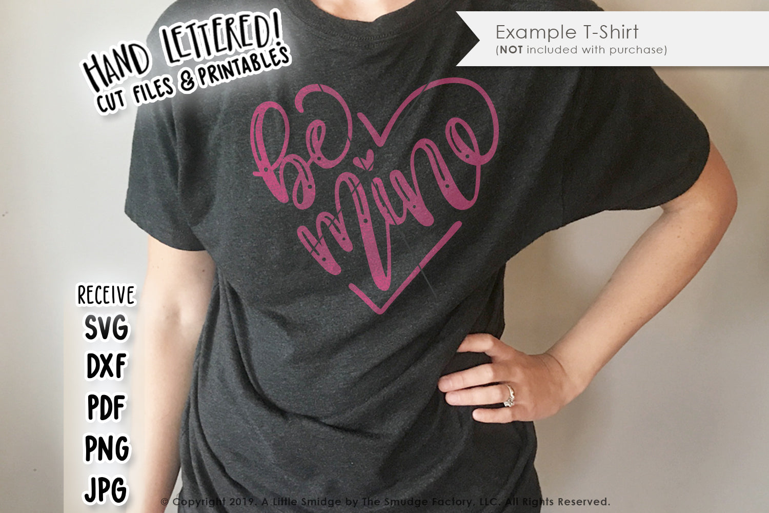 Be Mine SVG & Printable