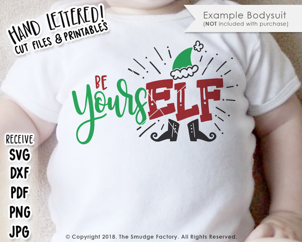 Be YoursELF SVG & Printable