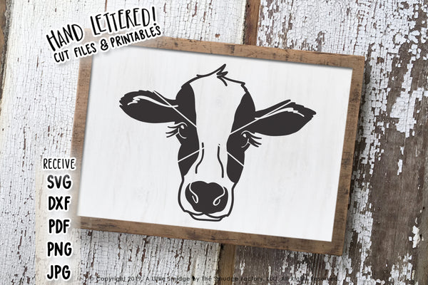 Cow SVG & Printable