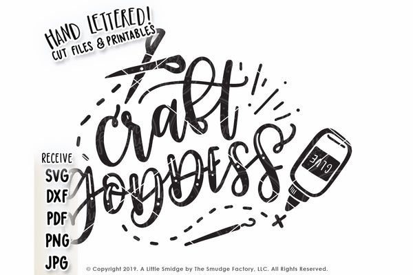Craft Goddess SVG & Printable