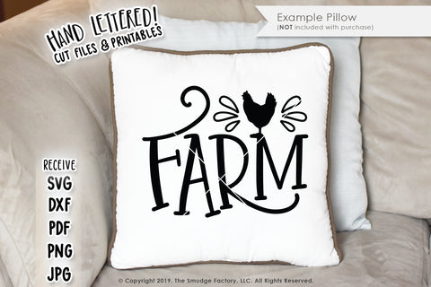 Farm SVG & Printable