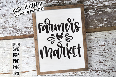 Farmers Market SVG & Printable